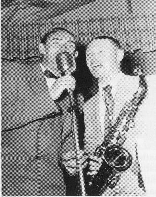 Mark Delahunty and Danny McNamara. July 12th 1954 | Paddy and Bids Ryan