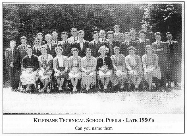 Kilfinane Technical School Pupils. 1950s