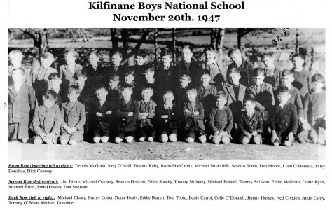 Kilfinane Boys National School. 20th Nov. 1947