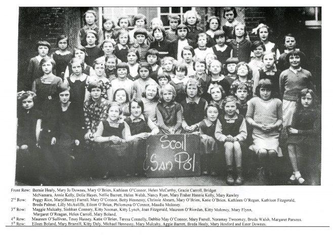 Scoil San Pol | kilfinane Coshlea Historical Society