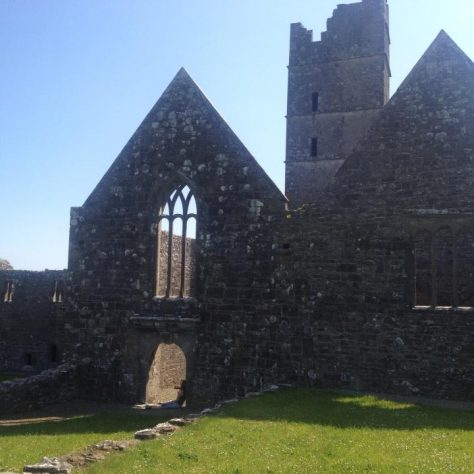 Moyne Abbey, Mayo.