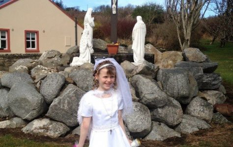 First Communion at Lacken Church