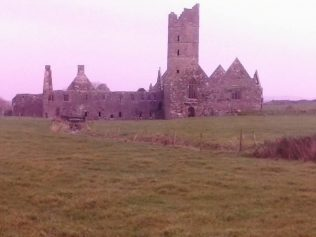 Moyne Abbey, Killala.