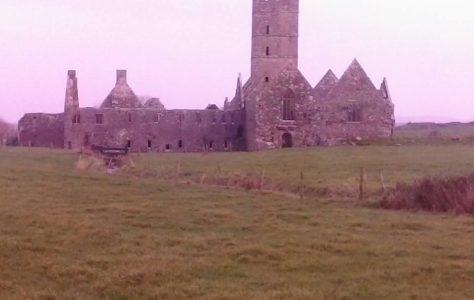 Moyne Abbey: Stone Wall