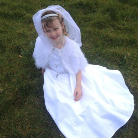 First Communion, Lacken, Mayo. (Model: Charlotte Land) | Photographer: Valkyriekerry Kelly