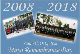 County Mayo Peace Park 10th Anniversary   Michael Feeney