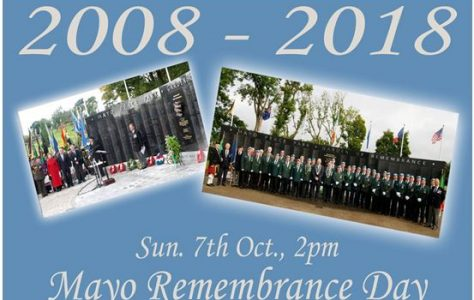 County Mayo Peace Park 10th Anniversary