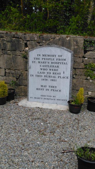 Castlebar Flu Memorial 2 | Taken by author