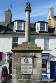 Musselburgh Mercat Cross, Scotland | https://commons.wikimedia.org/wiki/File:Musselburgh_mercat_cross.JPG