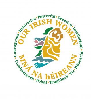Our Irish Women project logo, final design by Damien Goodfellow | National Museum of Ireland