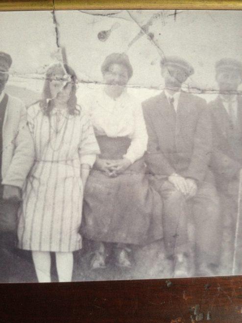 Mary Malone in centre of photo | Family Album