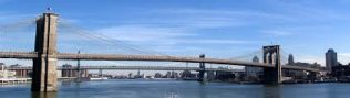 Brooklyn Bridge Panorama | https://commons.wikimedia.org/wiki/File:Brooklyn_Bridge_panorama.jpg