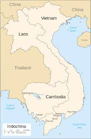 French - Indo China Map |  https://commons.wikimedia.org/wiki/File:French_Indochina_Phan_Xich_Long.svg