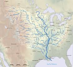 Mississippi River Basin | https://commons.wikimedia.org/wiki/File:Mississippiriver-new-01.png