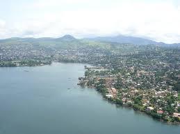 Freetown aerial view   https://en.wikipedia.org/wiki/File:Freetown-aerialview.jpg