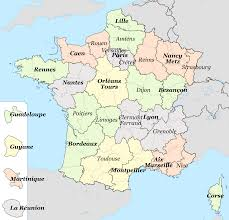 Map French Academies | https://commons.wikimedia.org/wiki/File:French_academies_map.svg