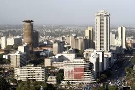 Nairobi   https://commons.wikimedia.org/wiki/File:Nairobi,_view_from_KICC.JPG