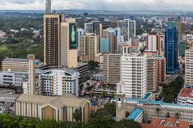 Nairobi City plus Cathedral | https://commons.wikimedia.org/wiki/File:Nairobi_City_centre_including_Basilica.jpg