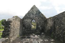 Old Church Aughagower, Co. Mayo | https://commons.wikimedia.org/wiki/File:Aghagower_Old_Church_2007_08_12.jpg