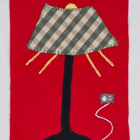 1950s Lamp by ....   ©Brian Cregan-17077 lamp