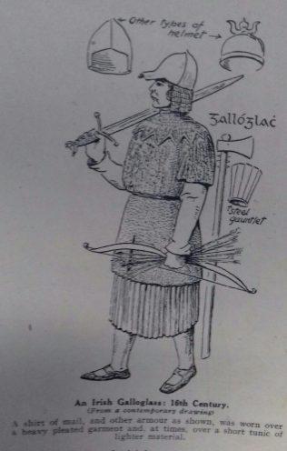 An Irish Galloglas  | Capt. Mac Call
