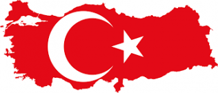 Map Flag Turkey | https://commons.wikimedia.org/wiki/File:Flag-map_of_Turkey.svg