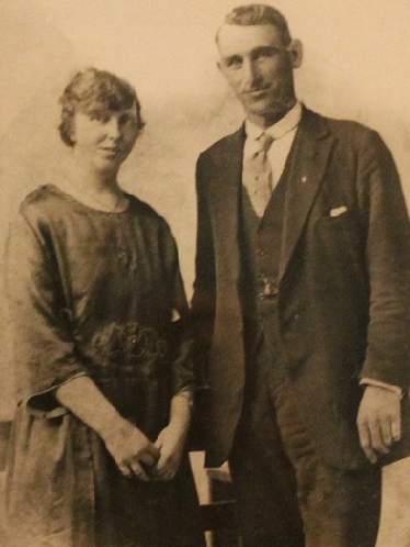 May Walsh and Richard Connolly