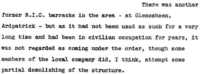 Lieut.-Col John McCarthy; BMH (1953)