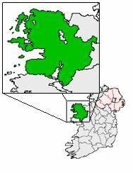 Map County Mayo | https://commons.wikimedia.org/wiki/File:Ireland_map_County_Mayo_Magnified.png