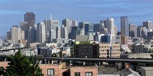 San Francisco Skyline by Andreas Praefcke 2008 | https://commons.wikimedia.org/wiki/File:San_Francisco_skyline_from_Potrero_Hill.jpg