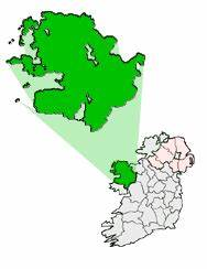 Co. Mayo Map | https://commons.wikimedia.org/wiki/File:Ireland_map_County_Mayo_Embossed.png
