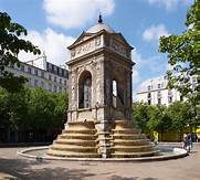 Fontaines des Innocents. Paris, France   https://commons.wikimedia.org/wiki/File:Fontaine_des_Innocents,_Paris_5_May_2013.jpg