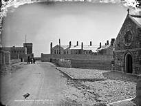 Renmore Barracks Lawrence Collection Robert French | https://commons.wikimedia.org/wiki/File:Renmore_Barracks,_Galway_City_-_once_home_to_the_Connaught_Rangers._(35110144076).jpg