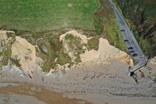 Aerial view of Garrarus Strand | Tim Cunningham