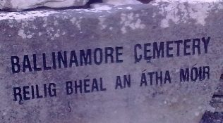 Ballinamore Cemetery, Co. Mayo | Author's Collection