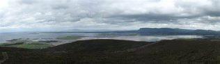 Sligo Bay from Knocknaree | https://commons.wikimedia.org/wiki/File:Sligo_bay_from_knocknarea.png