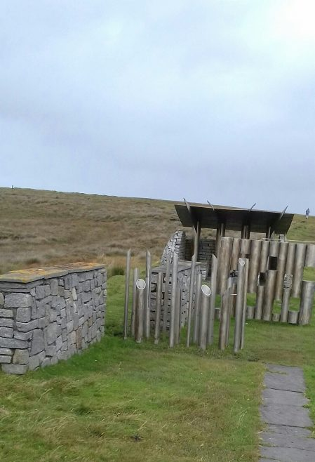 Spirit of Place Installation Benwee Head, North Mayo | Author's Collection