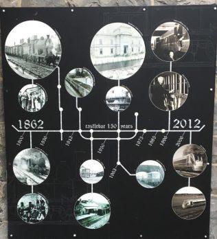 Castlebar Railway Plaque   T. Beckett Collection