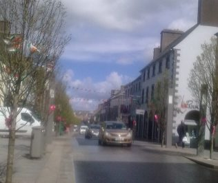 Main St. Castlebar, Co Mayo | Author's Collection