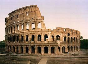 Colosseum, Rome, Italy | https://commons.wikimedia.org/wiki/File:Flickr_-_%E2%80%A6trialsanderrors_-_The_Colosseum,_Rome,_Italy,_ca._1896.jpg
