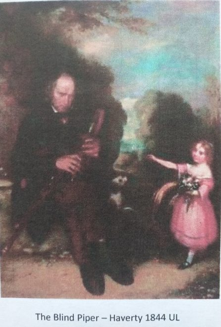 A second painting of the Limerick Piper by Joseph Patrick Haverty | University of Limerick
