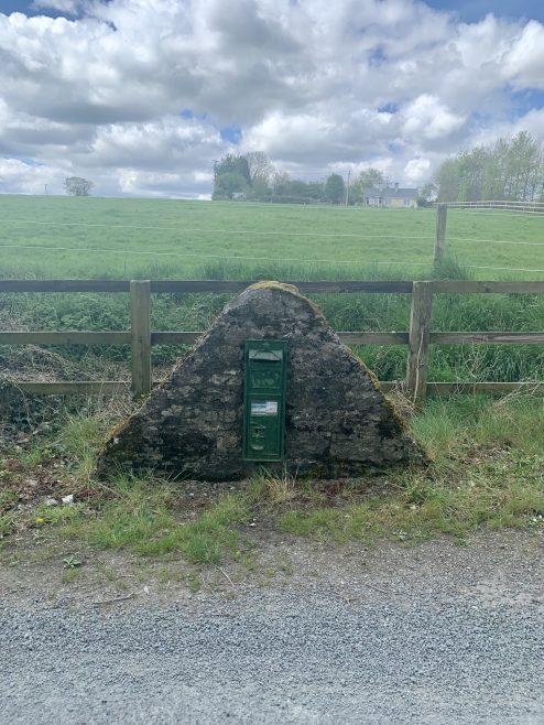 Irish post box | Annie Roche