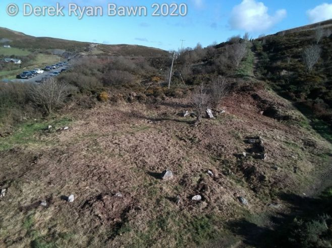 The Graves of the Leinstermen from Drone footage | Derek Ryan Bawn