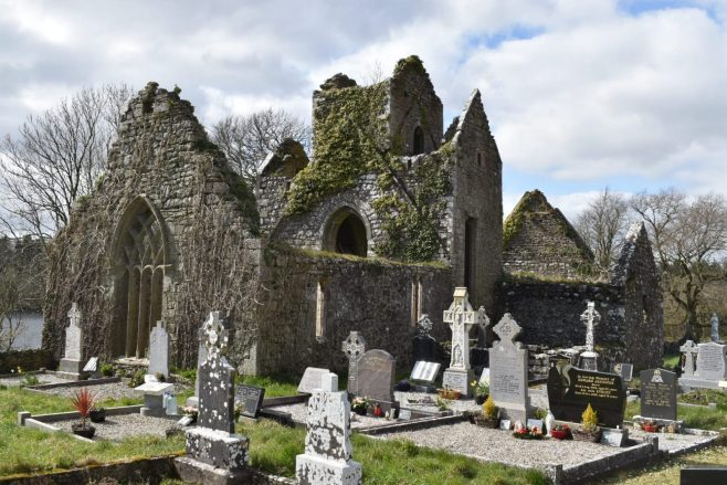 Ballindoon Priory or Abbey, commissioned by the McDonaghs