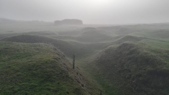 Heritage in The Curragh, Co. Kildare   World War 1 training trenches