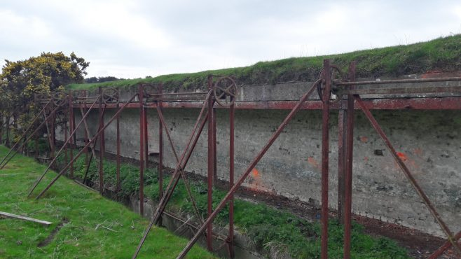 Heritage in The Curragh, Co. Kildare   Firing ranges with pulley system for targets