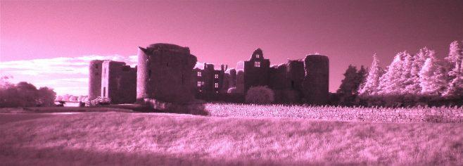 Roscommon Castle shot in near infrared. | Frank Scott