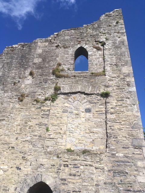 Maynooth Castle May 2020: Keep | Elaine Burke