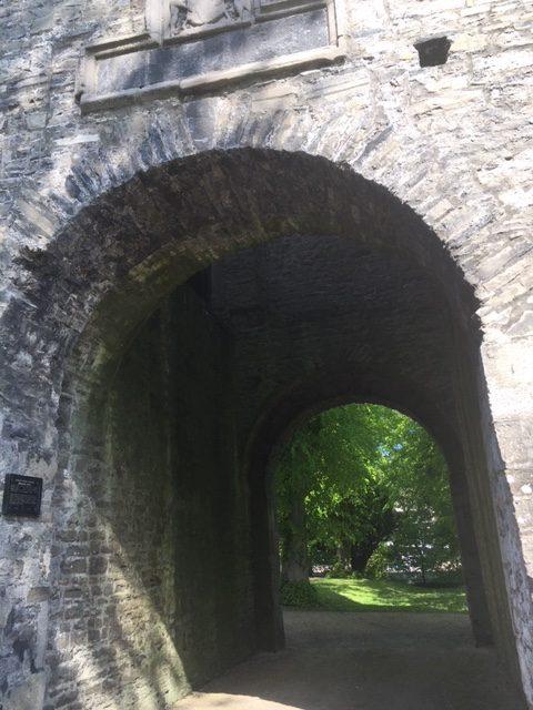 Maynooth Castle May 2020: Entrance | Elaine Burke