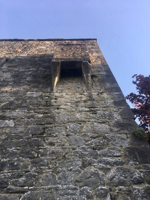 Maudlin Castle - Kilkenny's forgotten Leper Hospital | Maudlin castle - garderobe –Geni Murphy